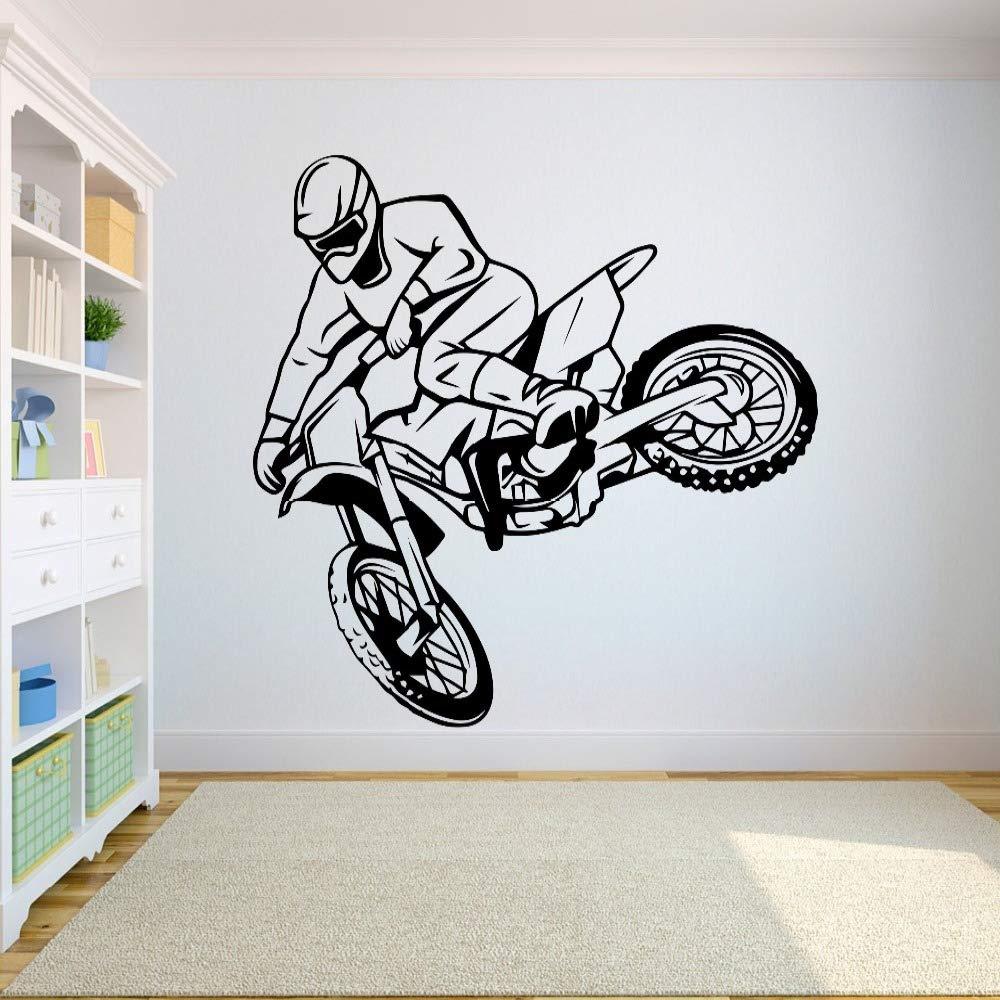 Geiqianjiumai Vinilo para Pared Motocross SUV Sport Room Freestyle ...