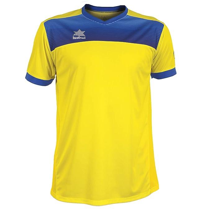 Luanvi Bolton Camiseta Manga Corta de Tenis, Hombre: Amazon.es: Deportes y aire libre