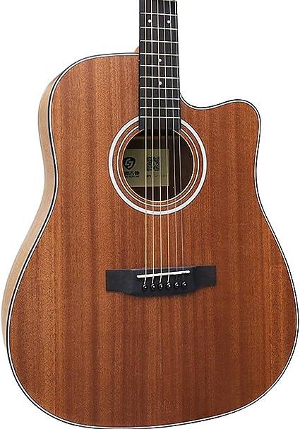 Miiliedy Guitarra acústica minimalista 41 pulgadas Principiante ...