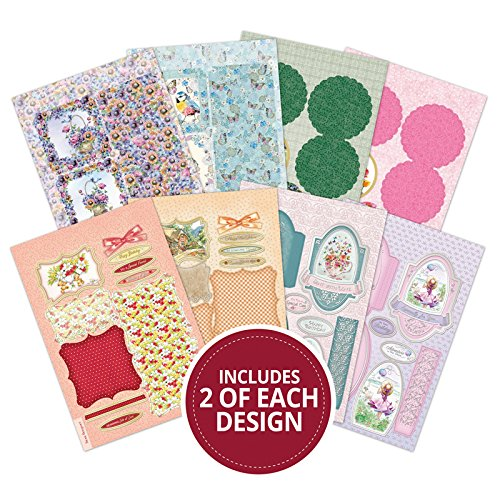 Hunkydory Adorable One Sheet Wonders Easel Cards 16-Card Kit with Envelopes OSW101