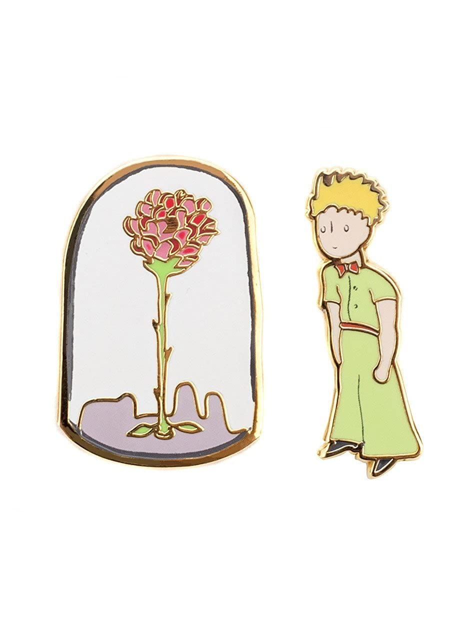 Amazon com: Out of Print The Little Prince Enamel Pin Set