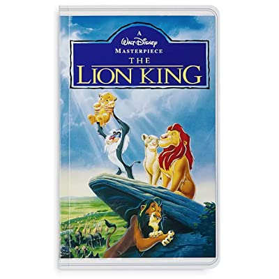 Disney Parks The Lion King VHS Cover Blank Book Journal Diary: Toys & Games