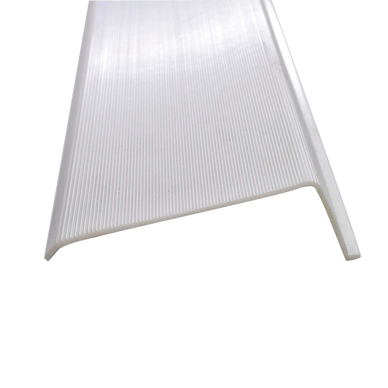 """12"""" Inch Under Cabinet Diffuser White Ribbed Replacement Cover Lens"""