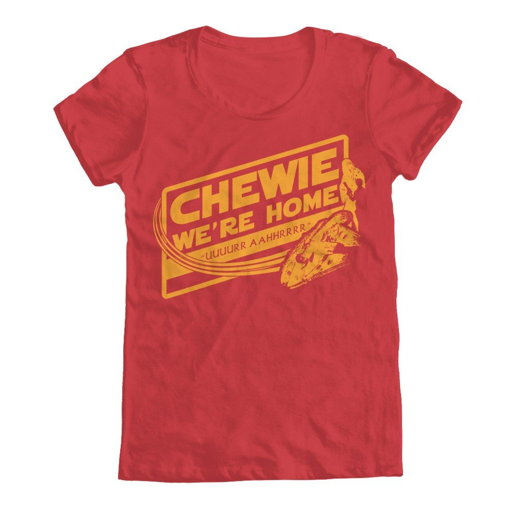 Chewie We Re Home T Shirt 3906