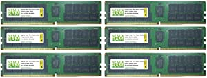 384GB 6x64GB DDR4-2933 PC4-23400 RDIMM Memory for Apple Mac Pro Rack 2020 7,1 by NEMIX RAM