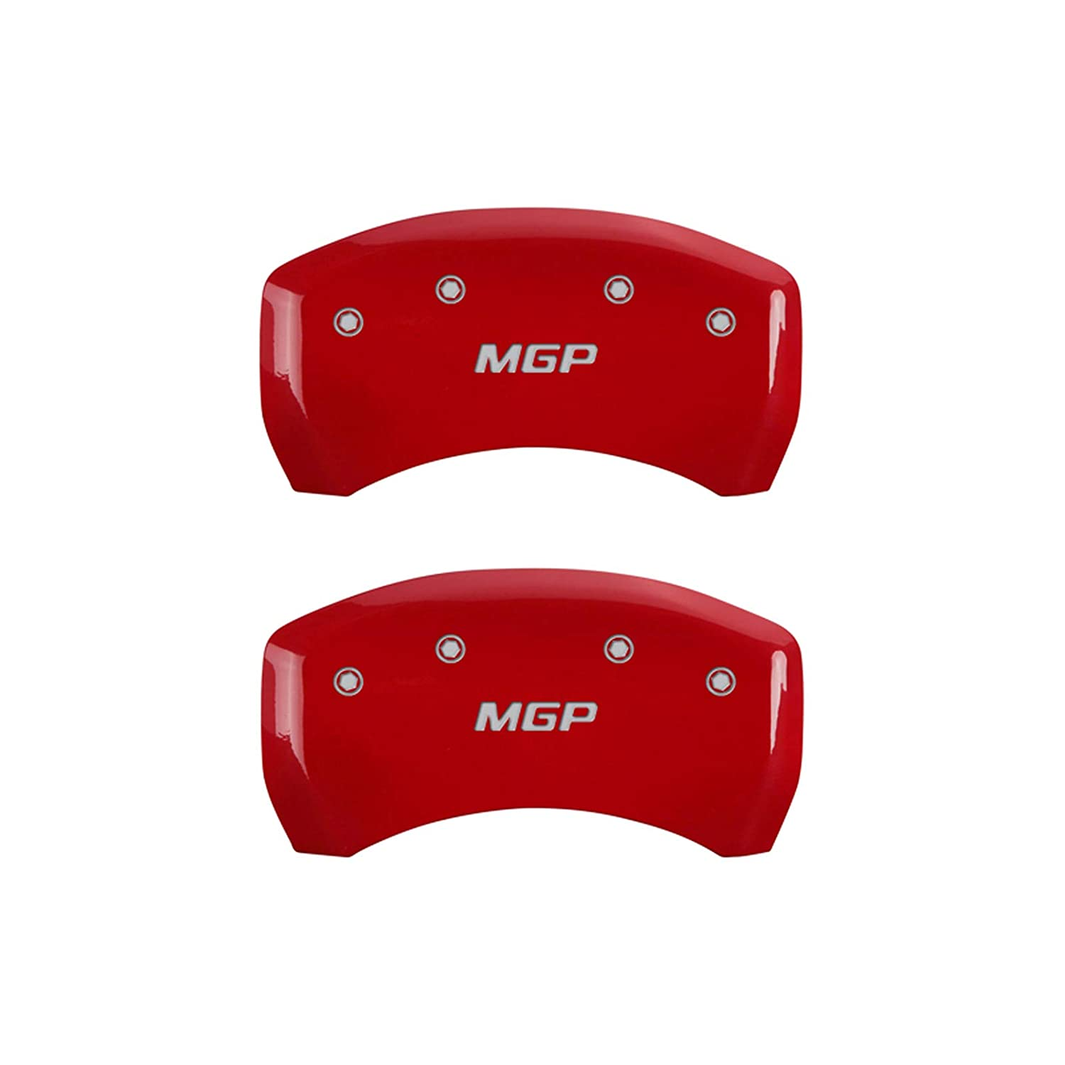 Elite Auto Chrome Red MGP Caliper Covers fit for 2007-2019 Toyota Tundra Set of 4