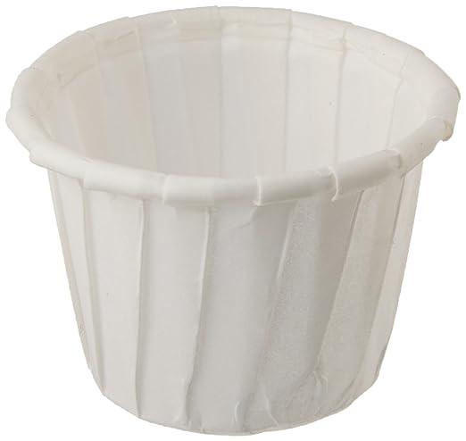 paper Portion Pots 1oz Paper Souffle Cases 250 Dip//Sauce Pots