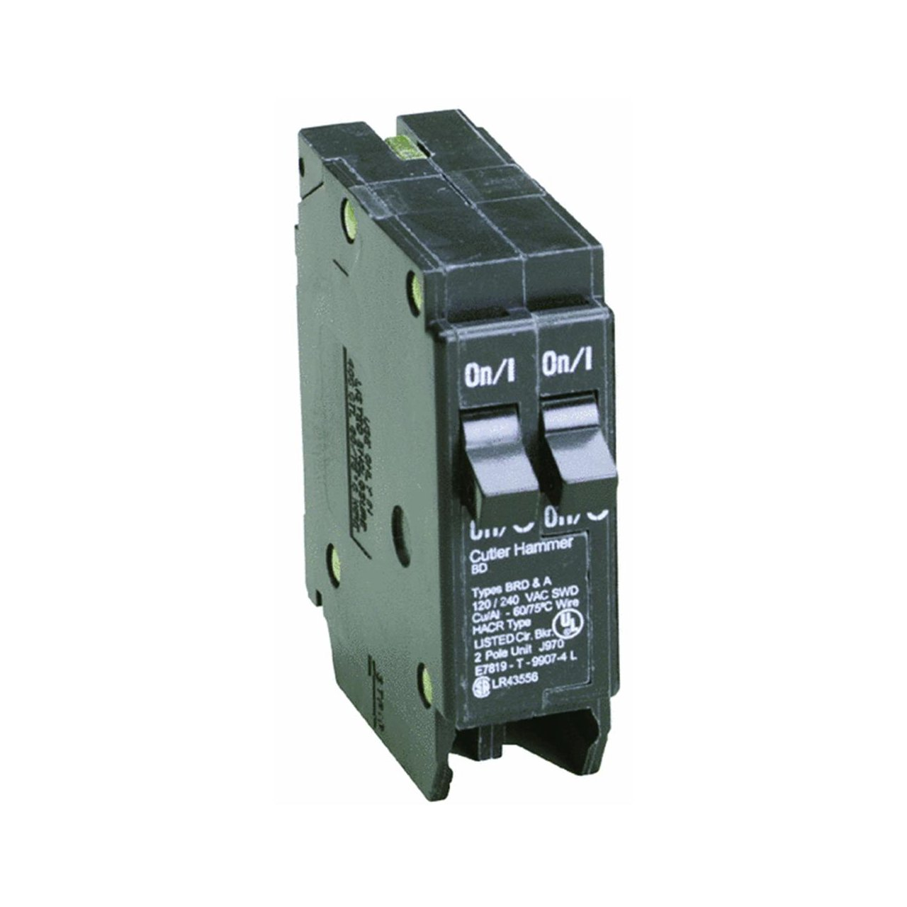 Eaton Corporation Bd1515 Single Pole Tandem Circuit Breaker 120v 2 Challenger Home Fuse Box 15 Amp Magnetic Breakers
