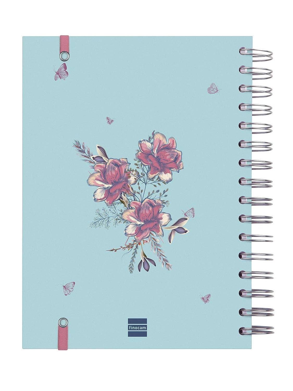 Finocam - Agenda 2020 1 día página Espiral You Imagina español
