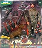 Wild Adventure Duck Hunter Deluxe Action Figure with Articulation and Life-Sized Duck Call