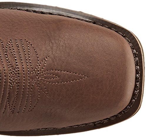 Rocky Boots Stiefel BARNTEC RKW0126 wasserdichter Westernreitstiefel (44 (10.5 US), Dark Brown (Weite M))