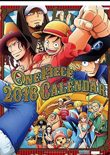 Japanese Animation ONE PIECE [Calendar 2016 (Try-X Ltd.)]