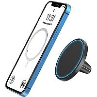 TechMatte MagGrip Vent Car Mount, Designad för iPhone 12-Serien MagSafe, Magnetisk Bilhållare, Kompatibel med iPhone 12…