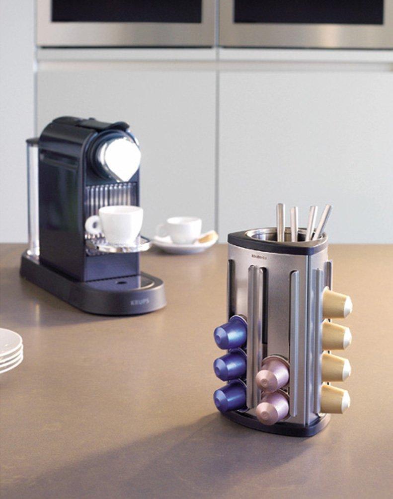 Amazon Brabantia Nespresso Capsule Holder Matt Steel