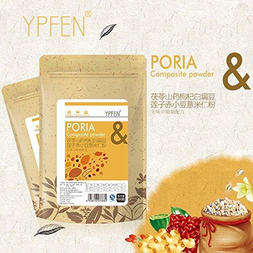 YPFEN wolfberry lotus Poria yam white lentils adzuki bean seed powder grain meal replacement powder