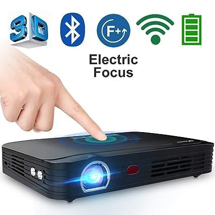 Proyector Full HD Mini proyector portátil WiFi proyector de cine ...