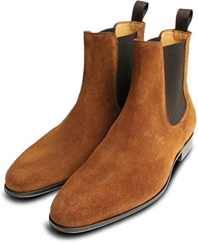 Arthur Knight Shoes Tobacco Snuff Suede