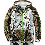 Legendary Whitetails Youth Team Legendary Full Zip Hoodie Big Game Snow Camo Large