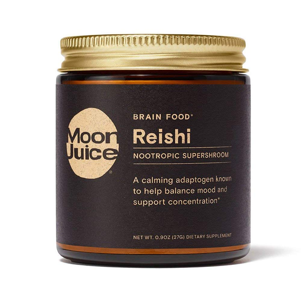 Moon Juice - Reishi Super Mushroom Extract | Powerful Organic Nootropic