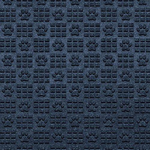 Paw Print Navy, 4-Piece Front & Rear Set (Standard) (Navy Car Mats)