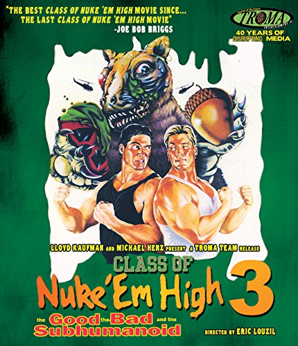 Class Of Nuke 'Em High III: The Good, The Bad And The Subhumanoid (Blu-ray)