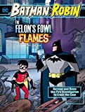 The Felon's Fowl Flames: Batman & Robin Use Fire Investigation to Crack the Case (Batman & Robin Crime Scene Investigations)