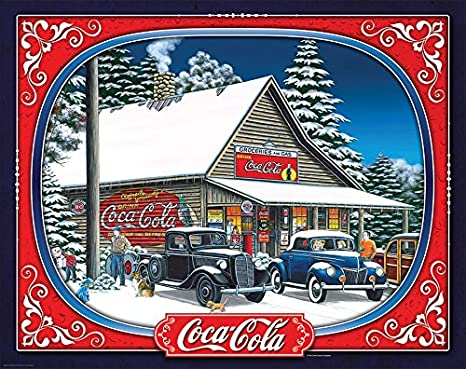 7f2fd327b197 Springbok Puzzles - Coca Cola Holiday Tidings - 1500 Piece Jigsaw Puzzle -  Large 28.75 inches