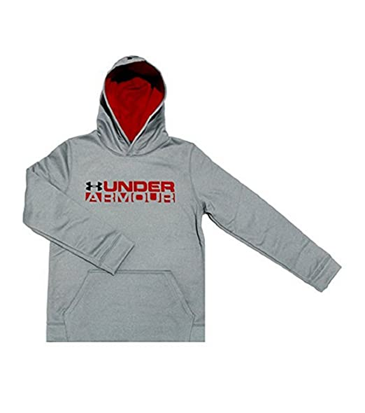 07ef6426b Under Armour Big Boys Youth 8-18 Storm Fleece Lined Athletic Hoodie (M 10