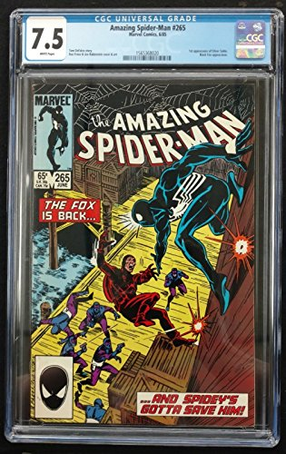 Amazing Spider-man (1963) #265 CGC 7.5 1st Appearance Silver Sable (156368020)