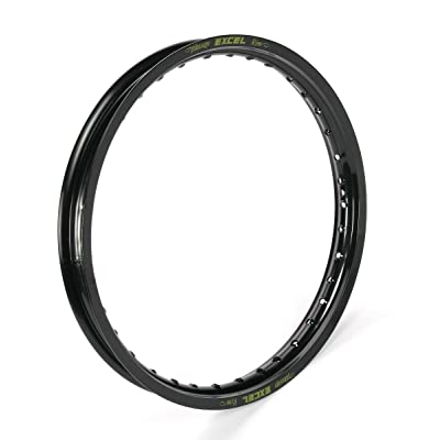 Excel ICK408 Black Rims: Automotive