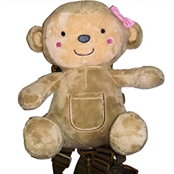 Amazon.com : Child of Mine 2-in-1 Harness Buddy ( Bear) : Baby