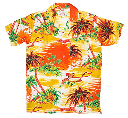 ragstock-mens-beached-sailboat-print-hawaiian-shirt-yellow-x-large