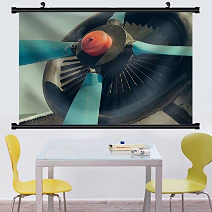 Amazon.com: Gzhihine Wall Scroll Vintage Aircraft Propeller the Old ...