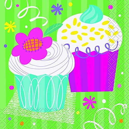 Unique 40082 Cupcake Party Napkins