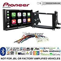 Volunteer Audio Pioneer AVH-W4400NEX Double Din Radio Install Kit with Wireless Apple CarPlay, Android Auto, Bluetooth Fits 2009-2015 Non Amplified Toyota Venza