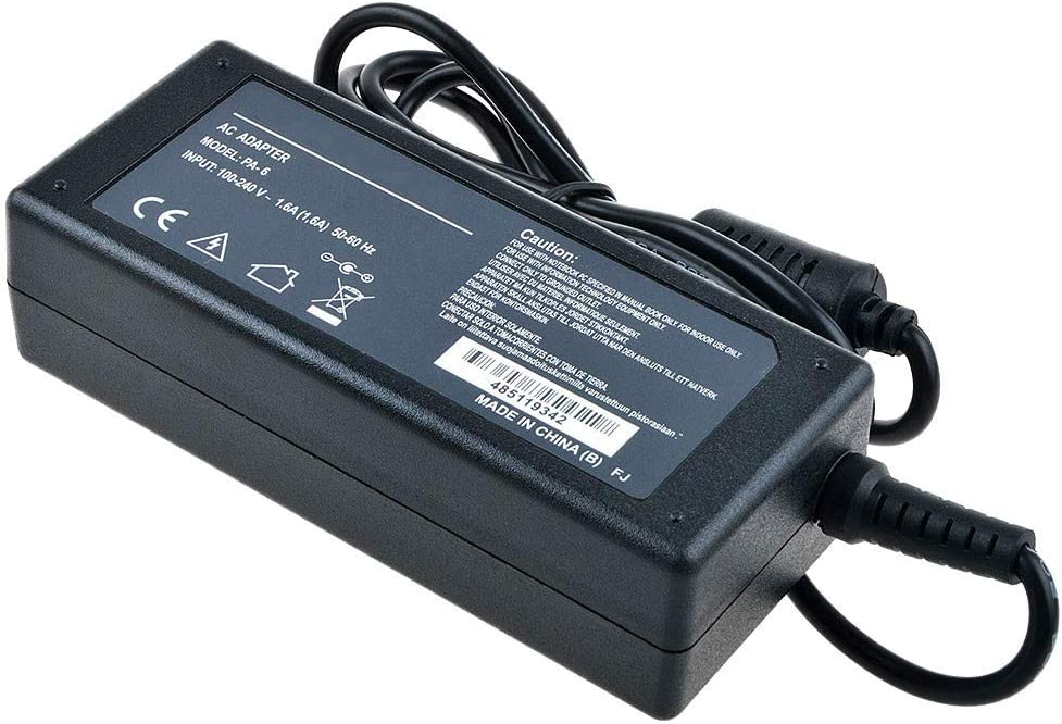 Uniq-bty 48V AC//DC Adapter for Polycom 2200-43240-001 IP Phone VoIP Telephone HDX-7000 Video Conference CODEC Remote Touchpad 48VDC Power Supply Cord Charger PSU