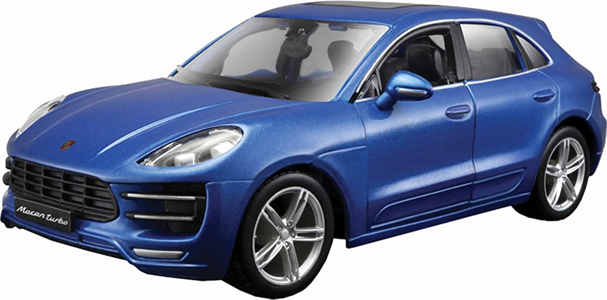 Amazon.com: 1:24 Porsche Macan Blue Diecast Model Kit Highly Detailed Replica Car Toy: Clothing