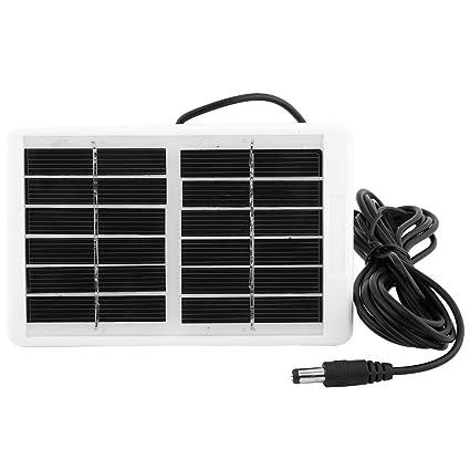 Amazon.com: Alomejor 6V 12.W Solar Power Panel Multi ...