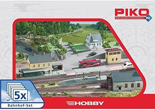 Piko 61923 PK61923 BAHNHOF STATION SET: Amazon.es: Juguetes y juegos