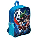 Kids Backpack Rucksack Cabin Bag for Children / Toddler - Large Avengers Boys / Girls Junior Backpacks for School / Nursery / Travel with Mesh Pockets