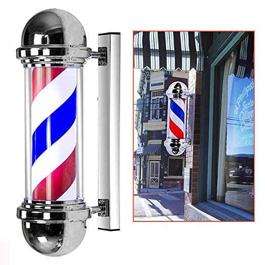 Barber Pole Led Poste De Barbero Luminoso De Exteriores Para ...
