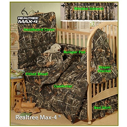 realtree-max-4-camo-7-piece-baby-crib-set-gift-set-save-by-bundling