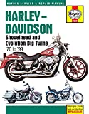 img - for Harley-Davidson Shovelhead and Evolution Big Twins '70 to '99 (Haynes Service & Repair Manual) book / textbook / text book