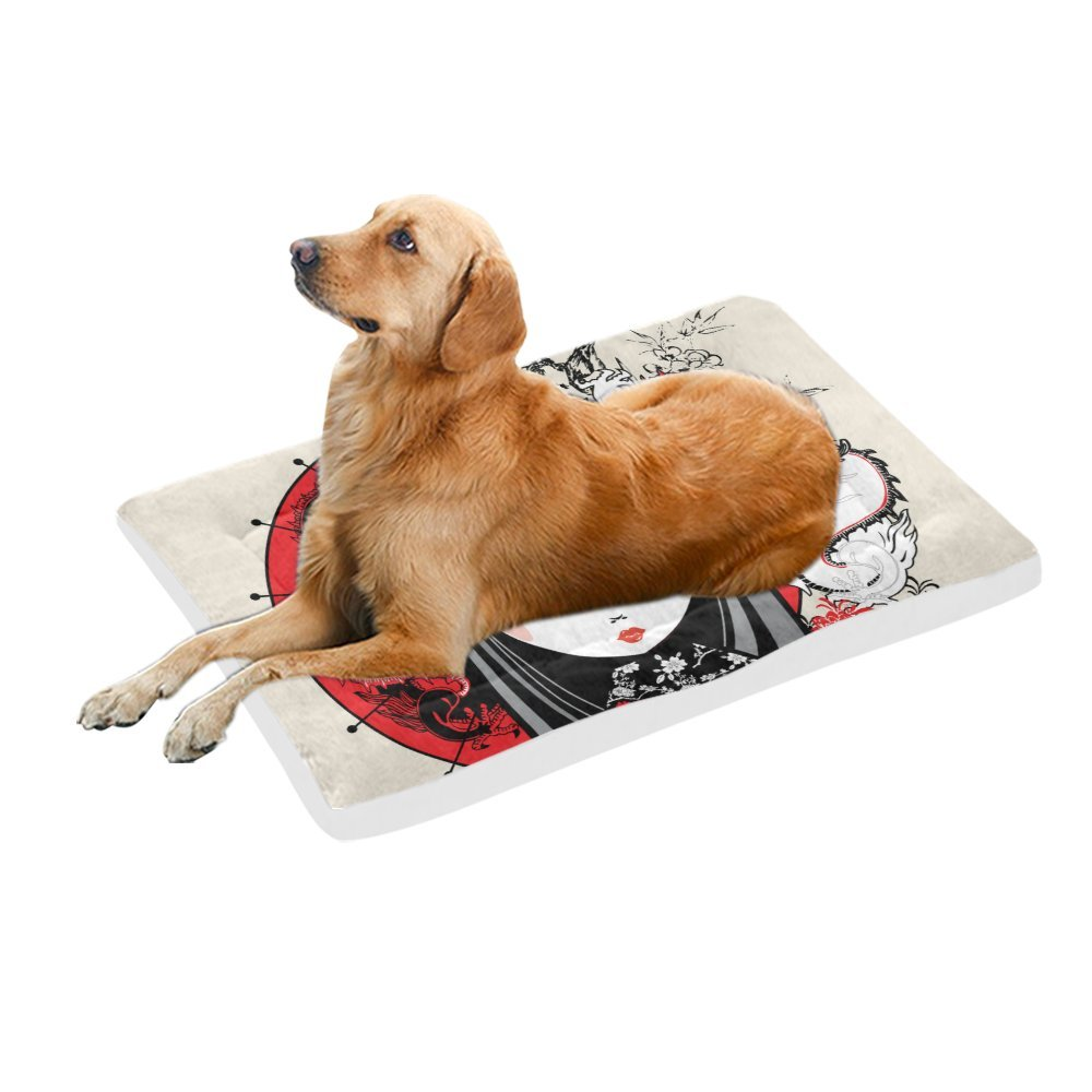 42\ your-fantasia Japanese Girl Pet Bed Dog Bed Pet Pad 42 x 26 inches