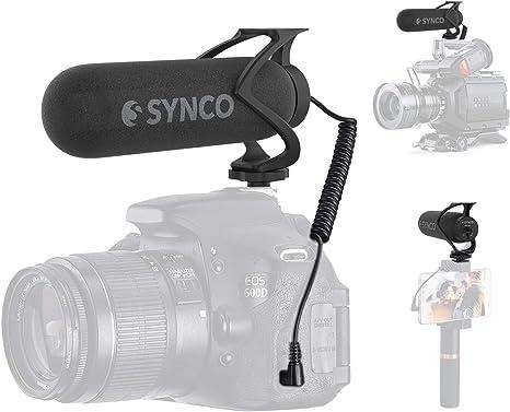 Microfono Reflex, SYNCO Mic M2 Shotgun Microfono Externo ...