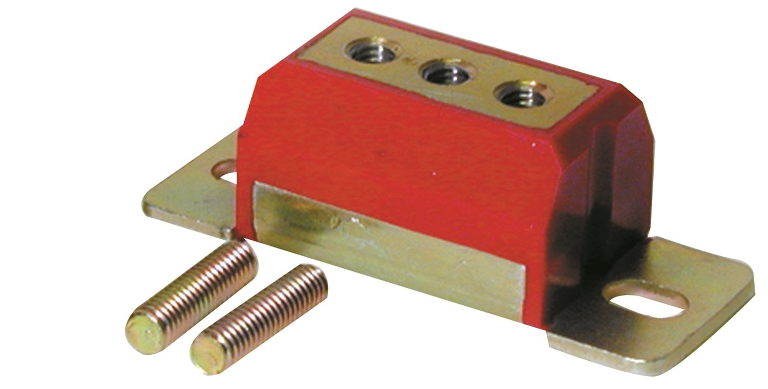 Prothane 7-1604 Red 6 and 8 Cylinder Transmission Mount Kit by Prothane