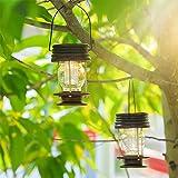 pearlstar Hanging Solar Lights Outdoor - 2 Pack