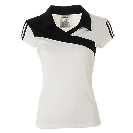 adidas Response Camiseta de Manga Corta Polo para Mujer, Mujer ...