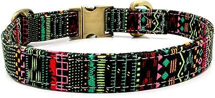 Sylar Collares para Perros, Collares para Gatos,Collares De Adiestramiento Ajustable con Hebilla De Aleación, Perro Cinturón De Seguridad Acolchado Collar con Hebilla De Acero para Perros Medianos: Amazon.es: Productos para mascotas