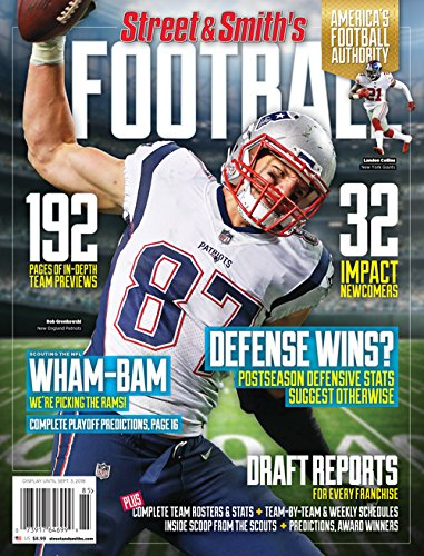 4a93e5af2 Street & Smith's 2018 NFL Yearbook Region 1 Perfect Paperback – 2018